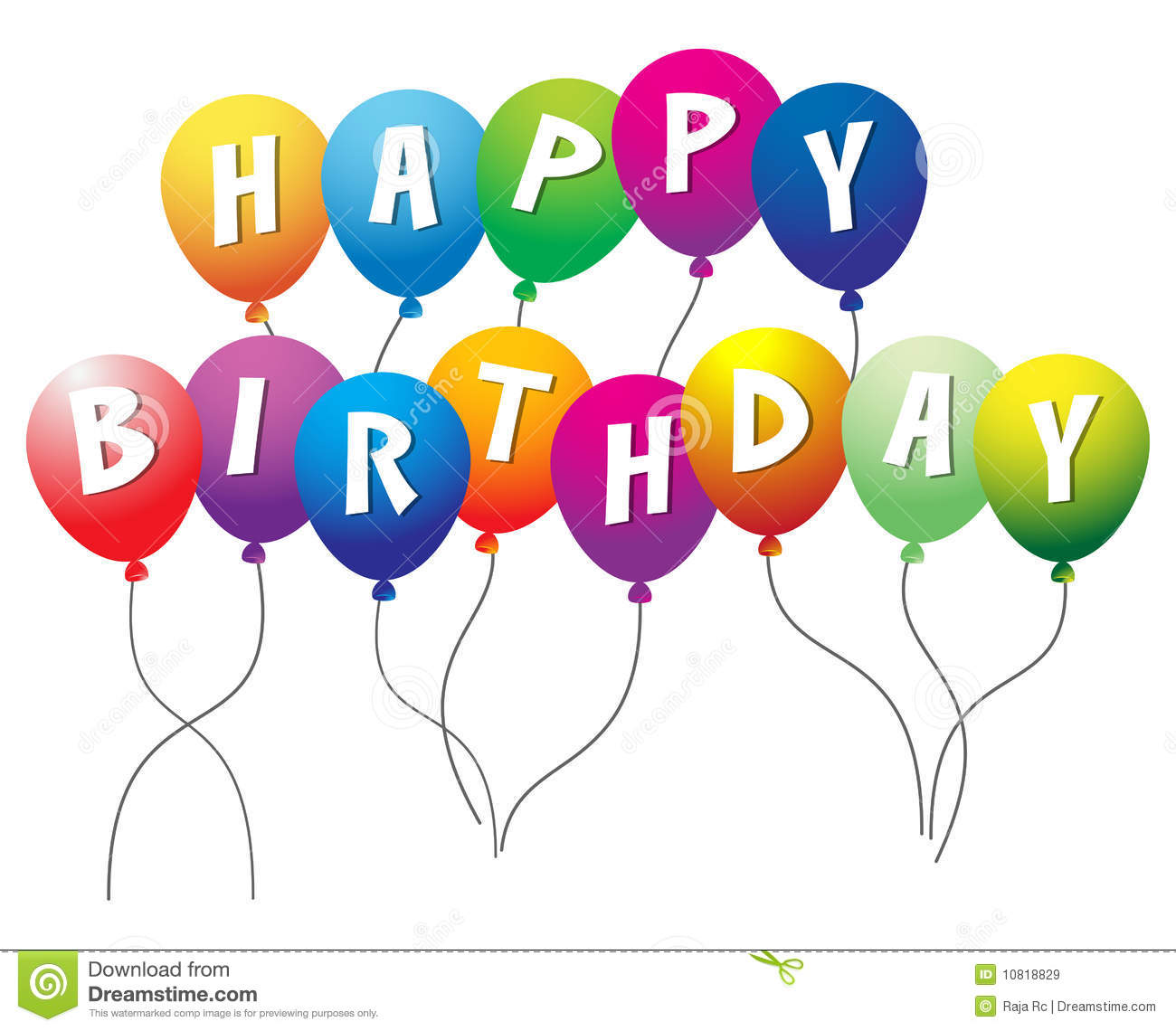 Happy Birthday Royalty Free Stock Images - Image: 10818829