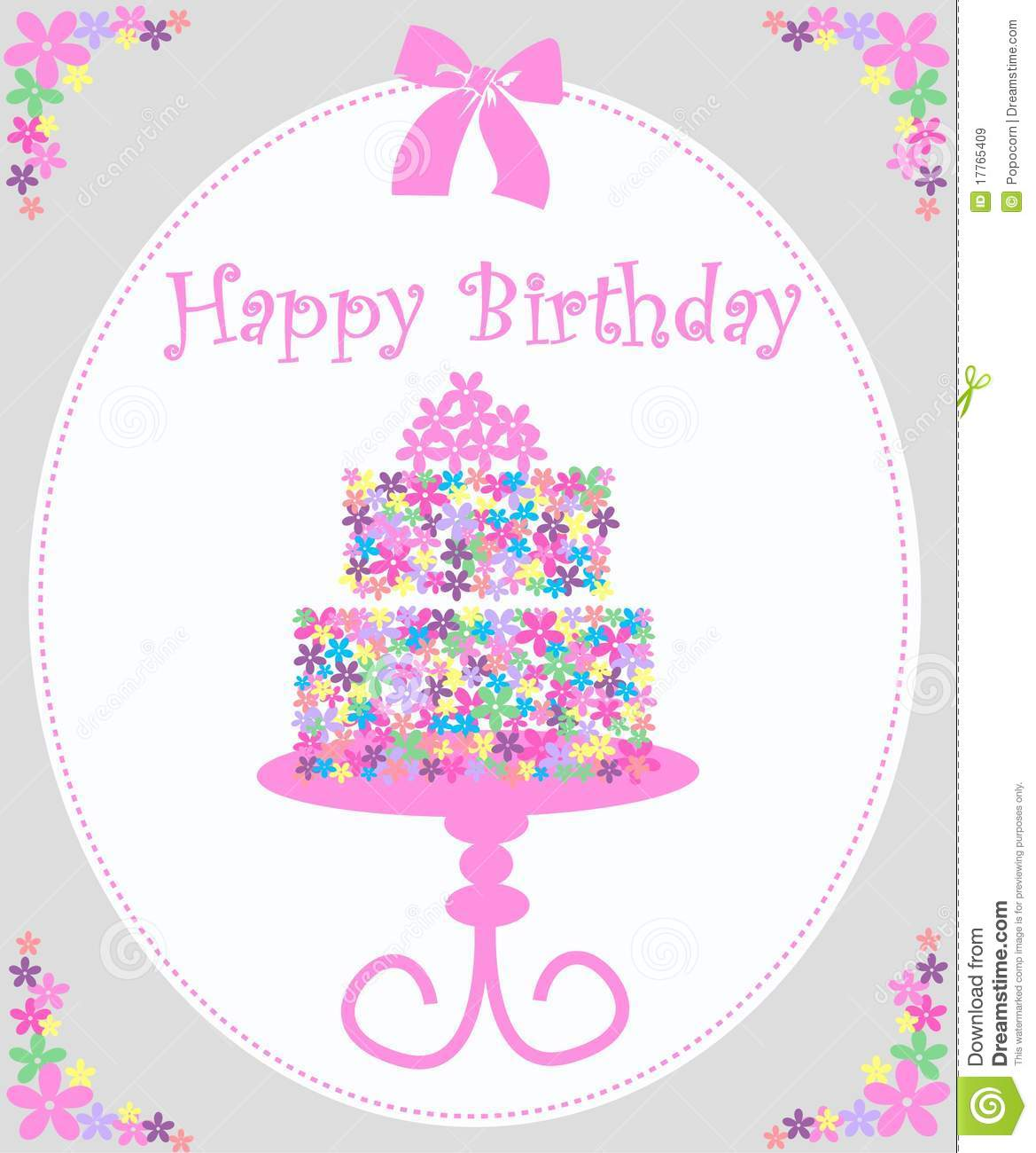 Happy Birthday Royalty Free Stock Images Image 17765409