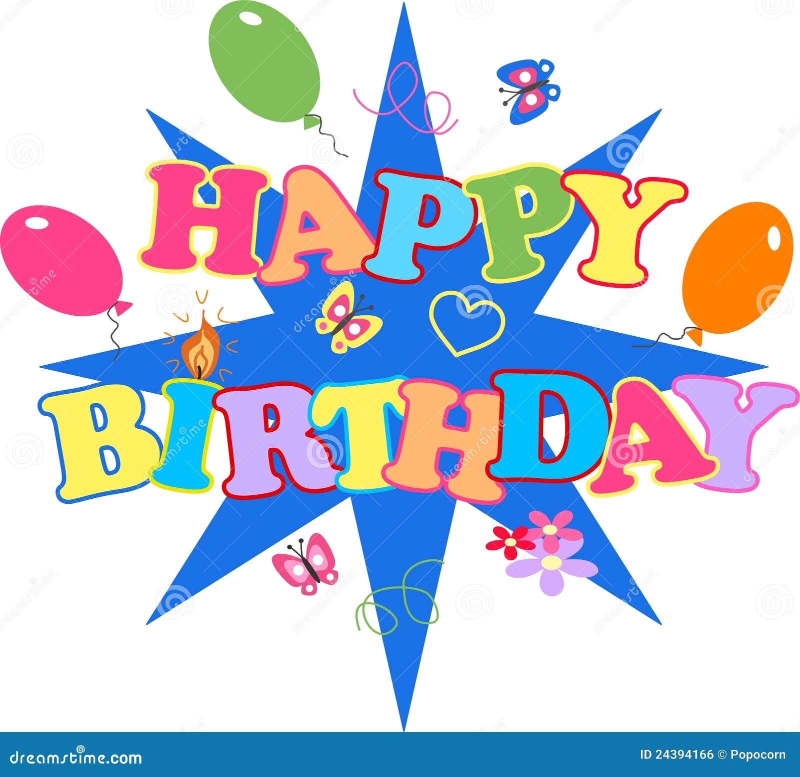 Happy Birthday Stock Vector. Illustration Of Celebrate