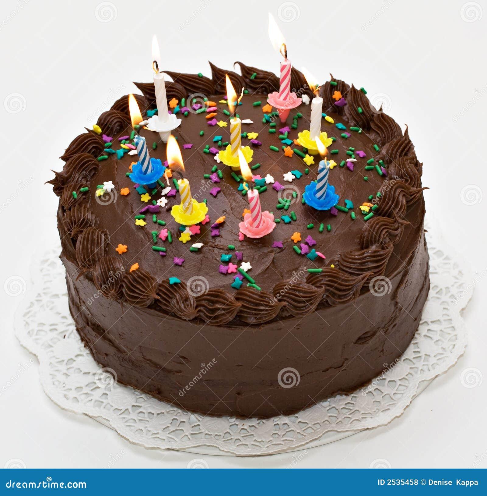 Happy Birthday Stock Photo Image Of Confetti Sweet Chocolate