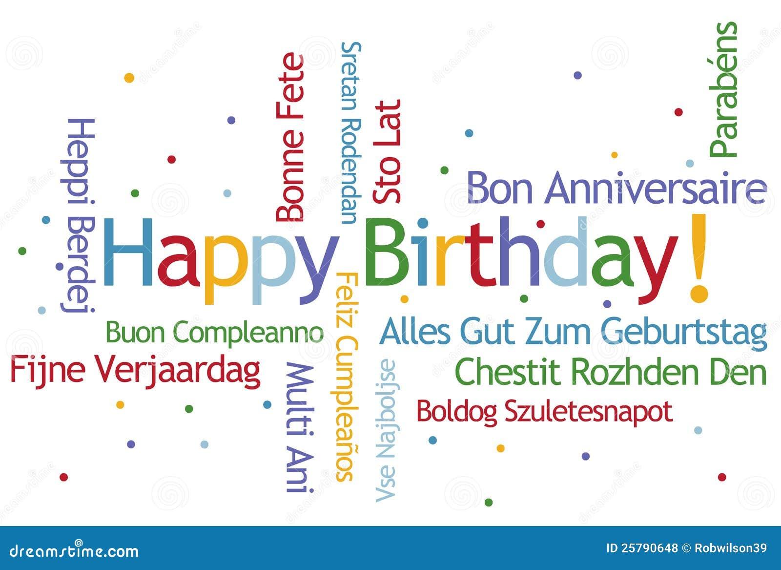 Поздравления на немецком с днем рождения с переводом