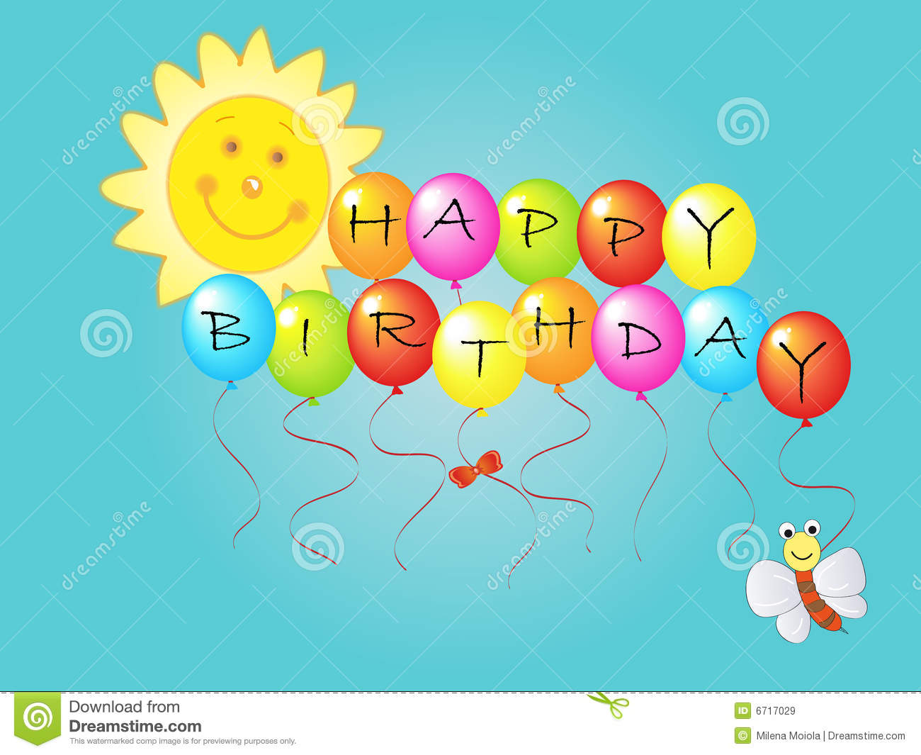 Happy Birthday Royalty Free Stock Images Image 6717029