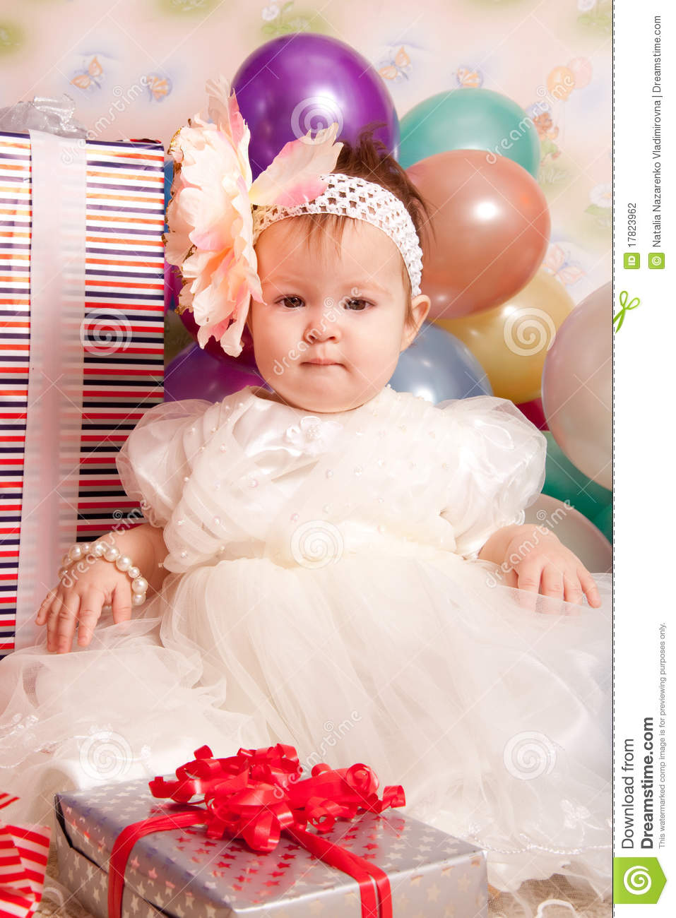 Happy Birthday Baby Stock Photo Image Of Child Dream 17823962