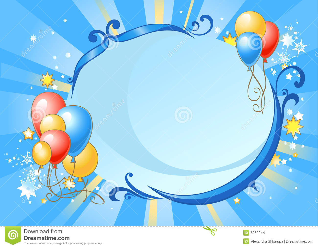 Banner Feliz Aniversario: Happy Birthday Background Stock Images