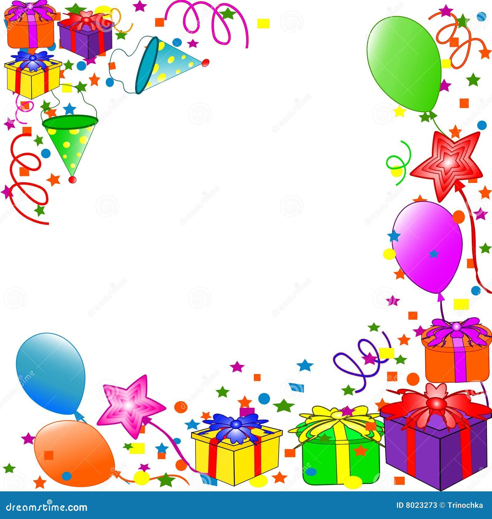 Happy Birthday Background Stock Images - Image: 8023304