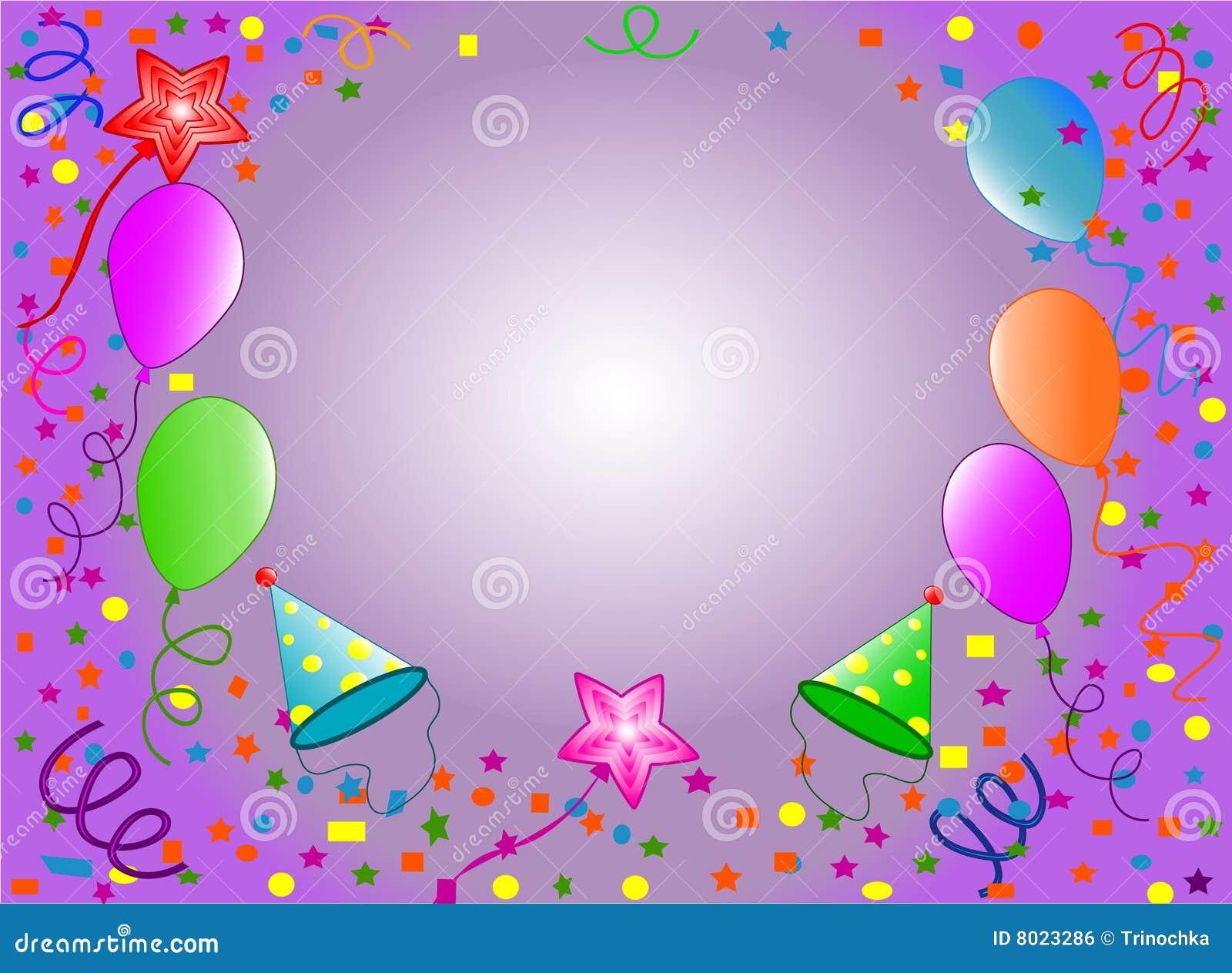 Happy Birthday Background Royalty Free Stock Image - Image: 8023286