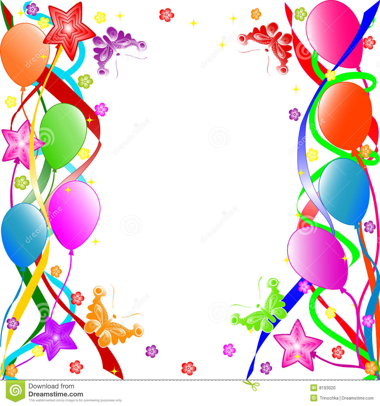 Happy Birthday Background Royalty Free Stock Images - Image: 8023059