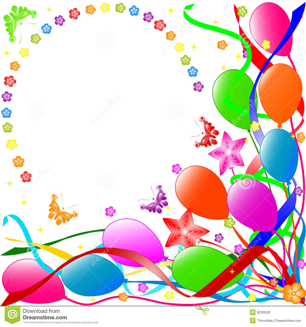 Happy Birthday Background Royalty Free Stock Images - Image: 8193039