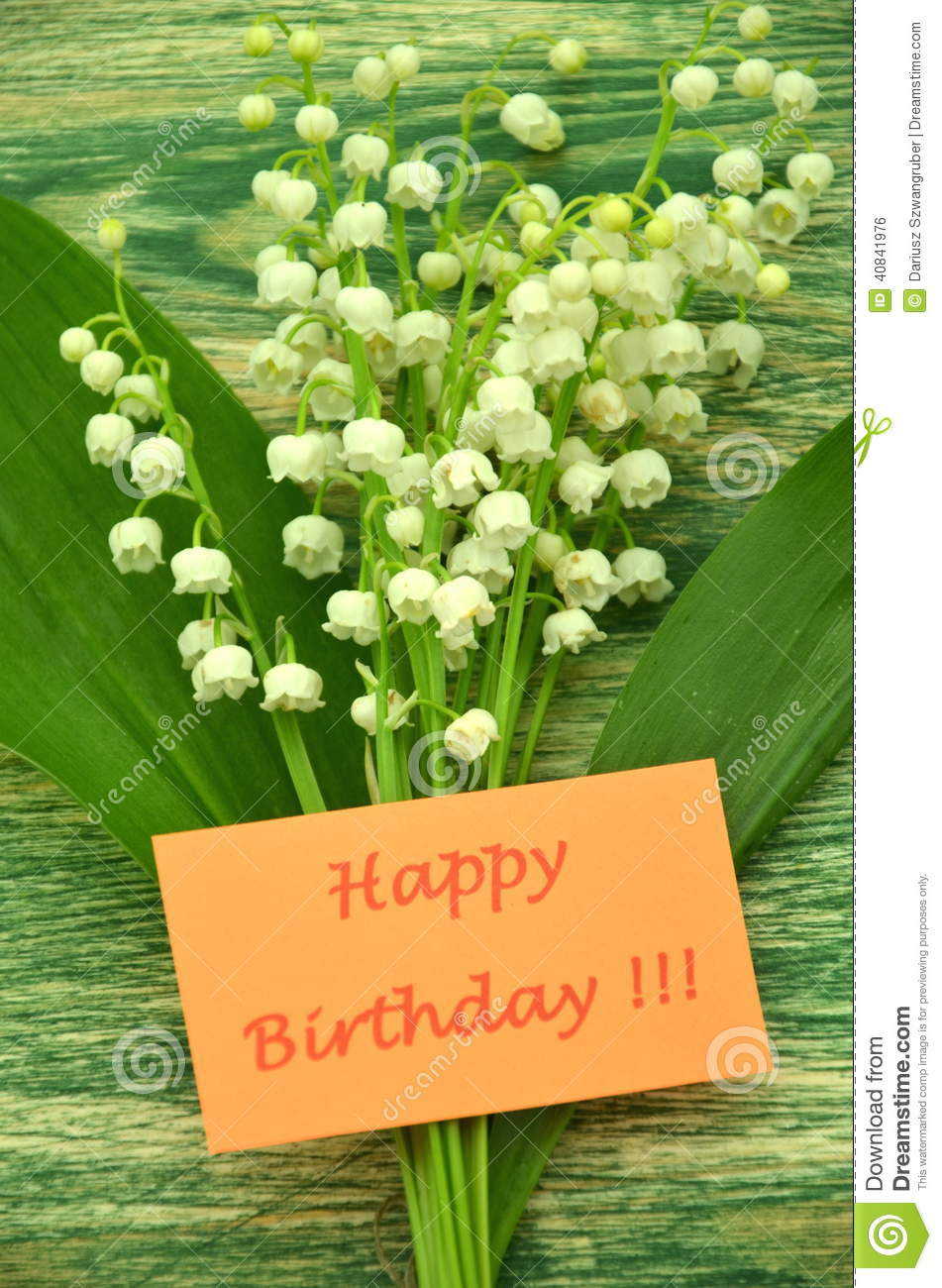 More similar stock images of ` Happy birthday and bouquet of delicate ...