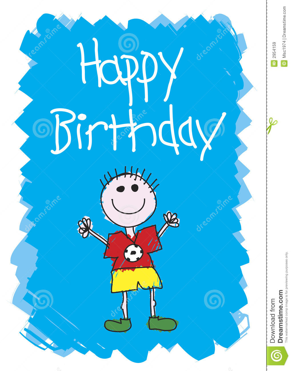 Happy Birthday - Boy Royalty Free Stock Images - Image: 2954159