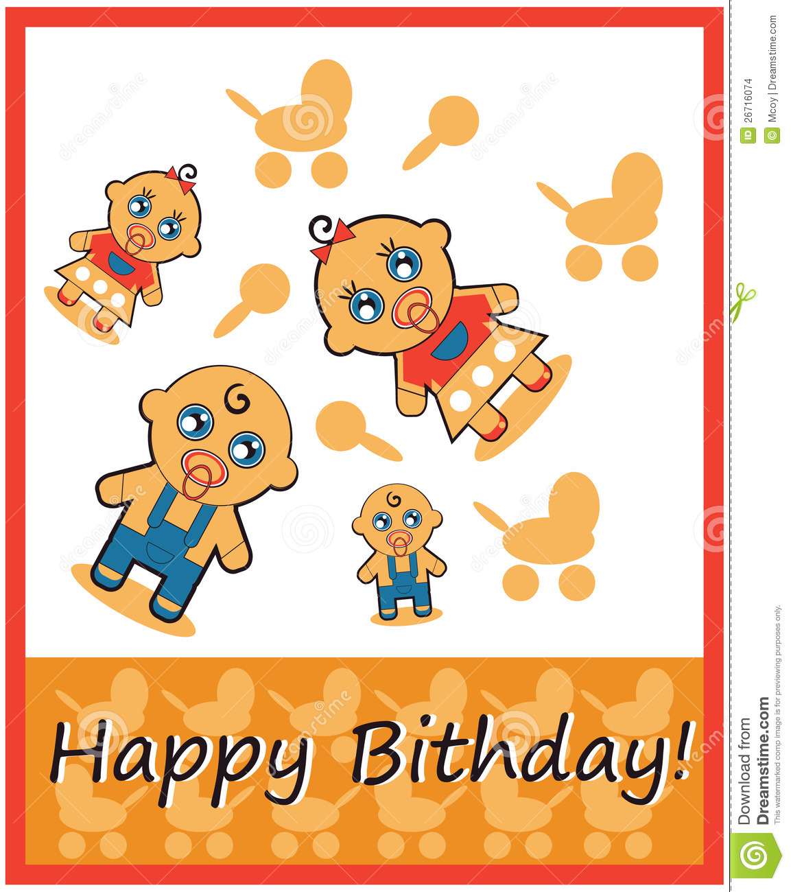 Happy Birthday Boy And Girl Stock Images - Image: 26716074