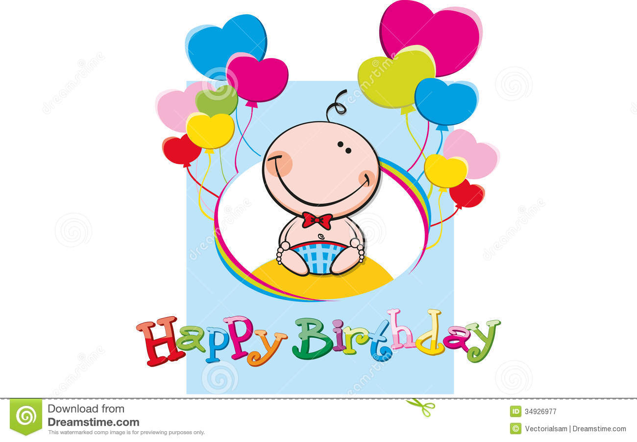 Happy Birthday Boy Royalty Free Stock Photography - Image: 34926977