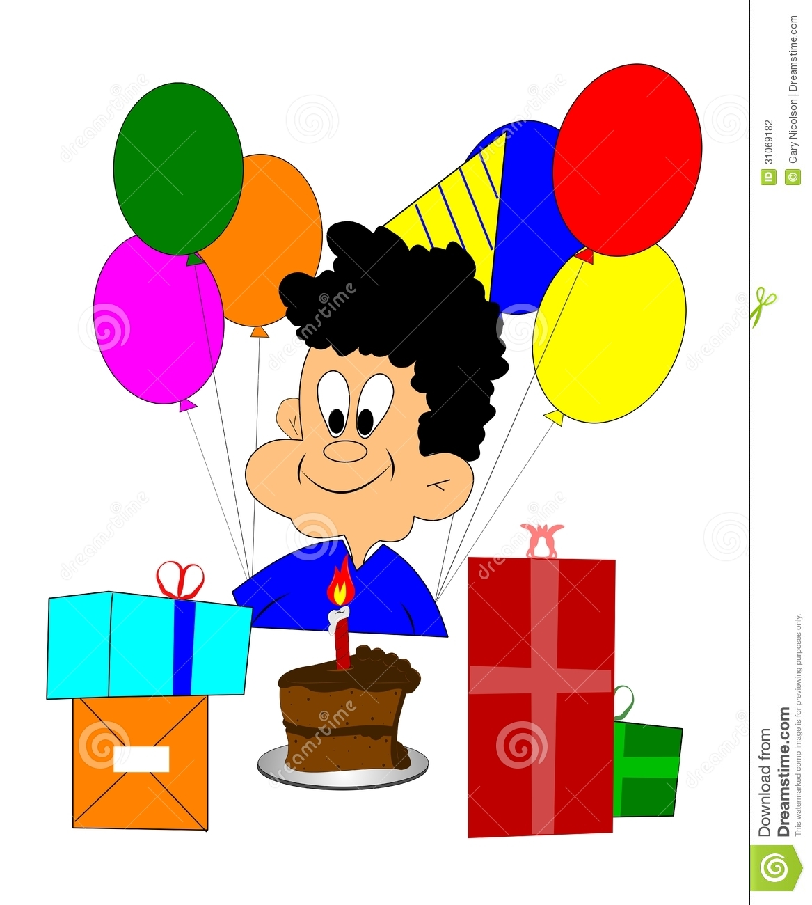 Happy Birthday Boy Stock Photography Image 31069182