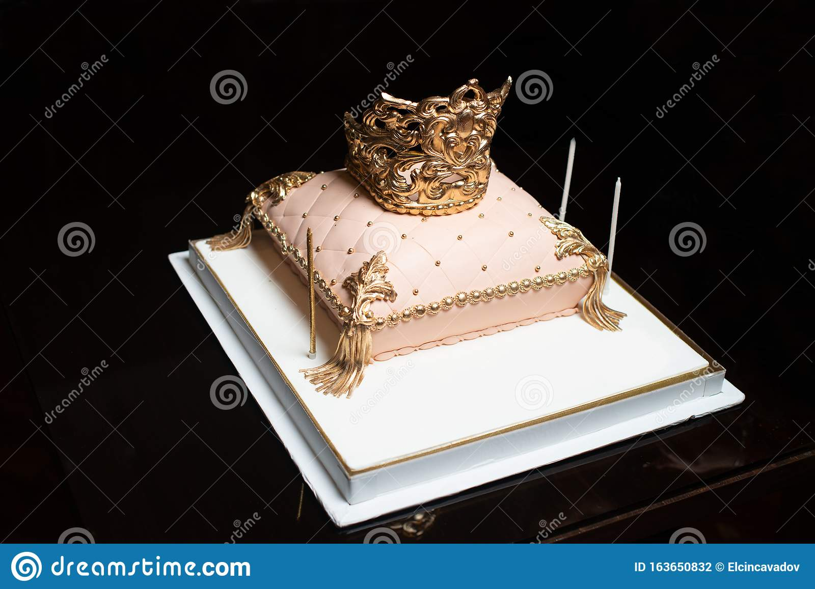 Surprising Happy Birthday Birthday Cake With Candles Stock Photo Image Of Funny Birthday Cards Online Alyptdamsfinfo
