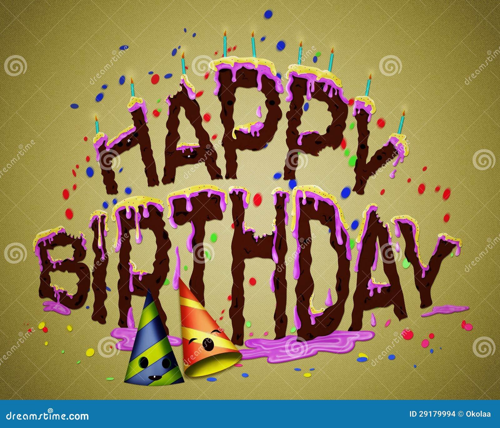 Pleasant Happy Birthday Cake Fun Happy Birthday Cake Stock Illustration Funny Birthday Cards Online Eattedamsfinfo