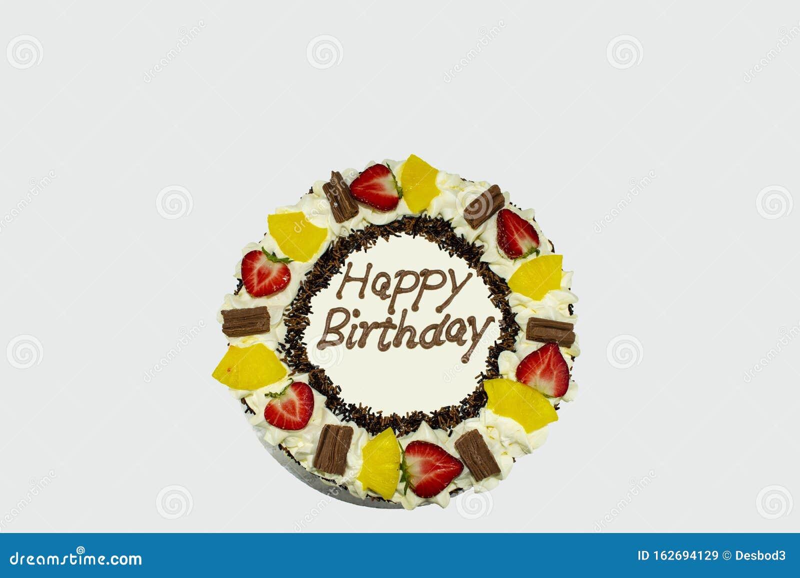 Excellent Happy Birthday Cake Stock Image Image Of Celebration 162694129 Birthday Cards Printable Riciscafe Filternl