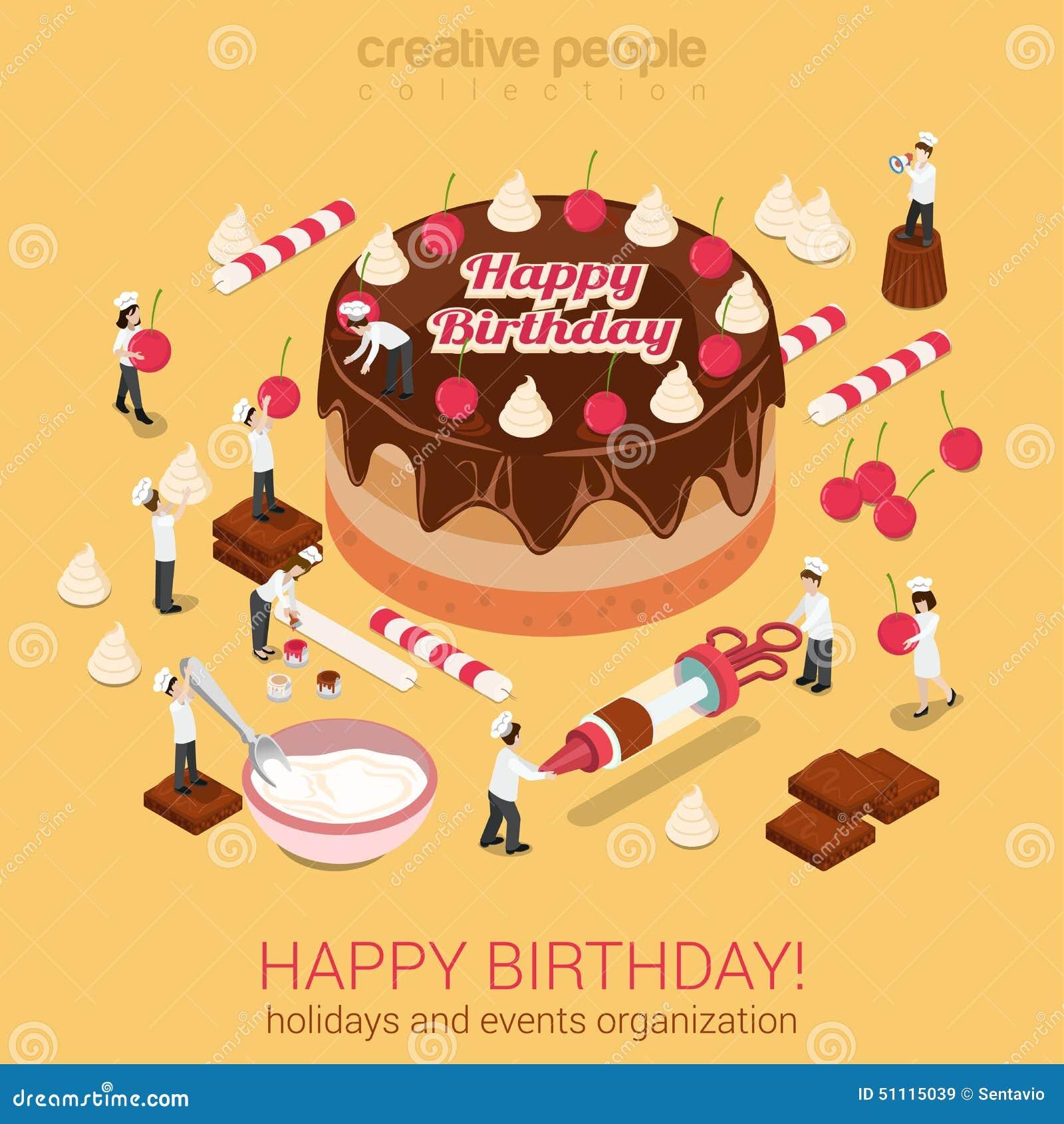 happy birthday cake with tools on cake birthday banner