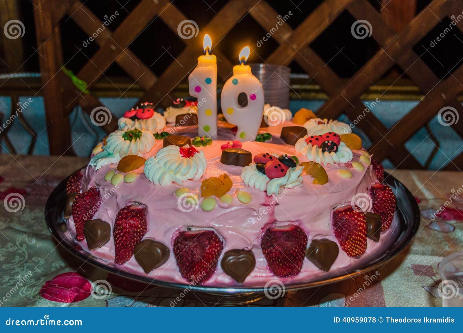 19 year old birthday cakes