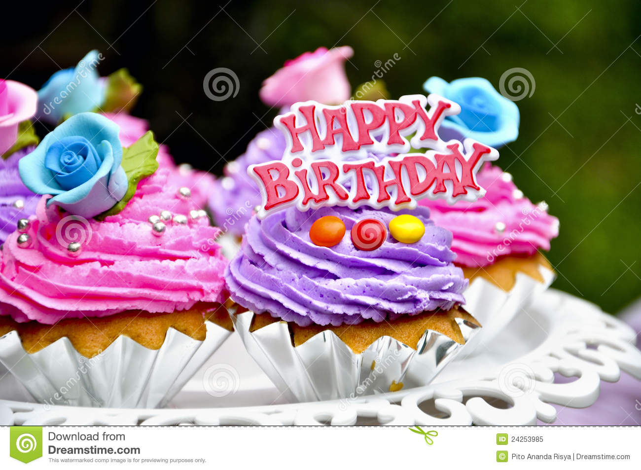 Happy birthday cakes stock image Image of goodies festive 24253985