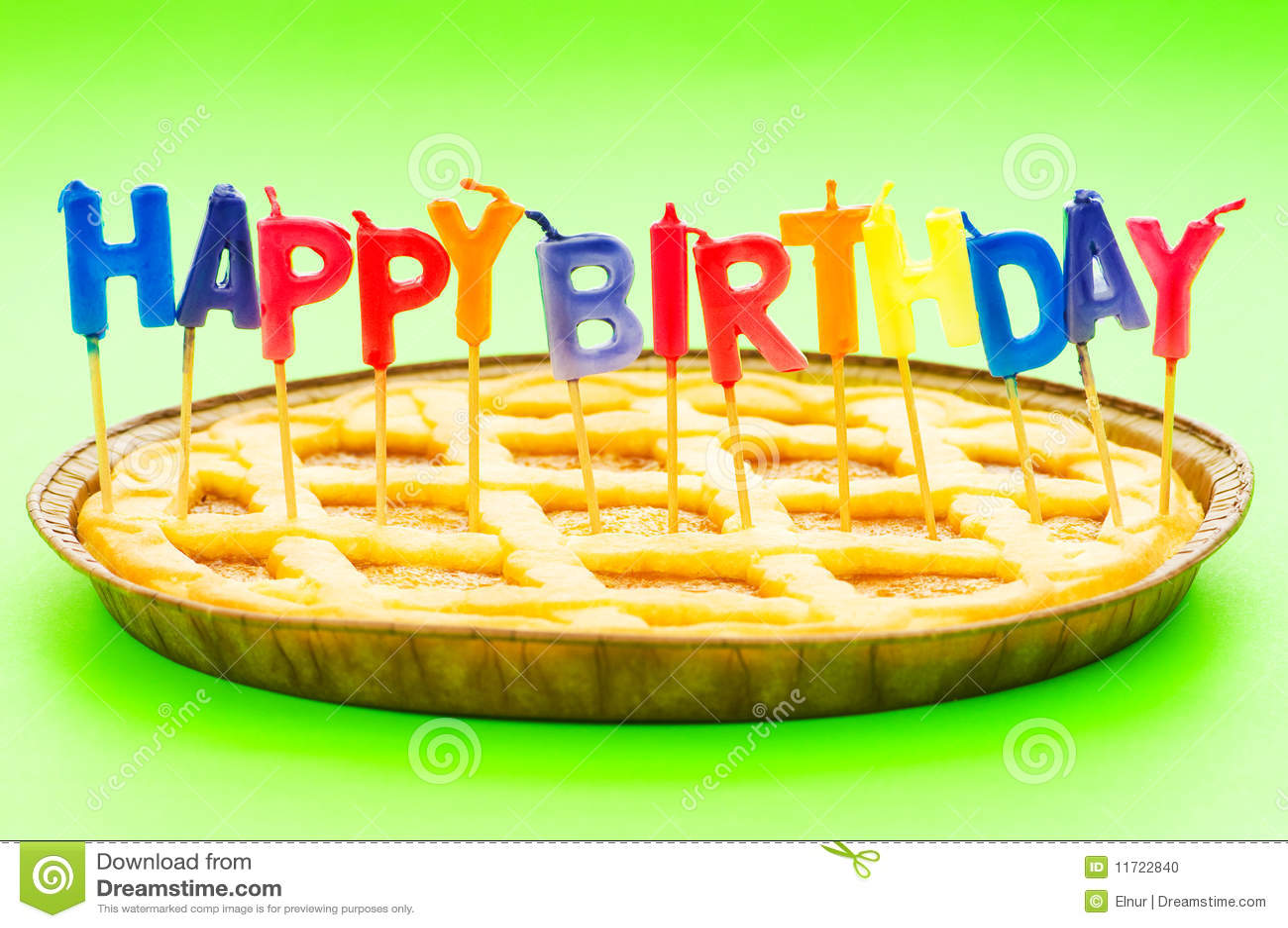Birthday Pie Cake