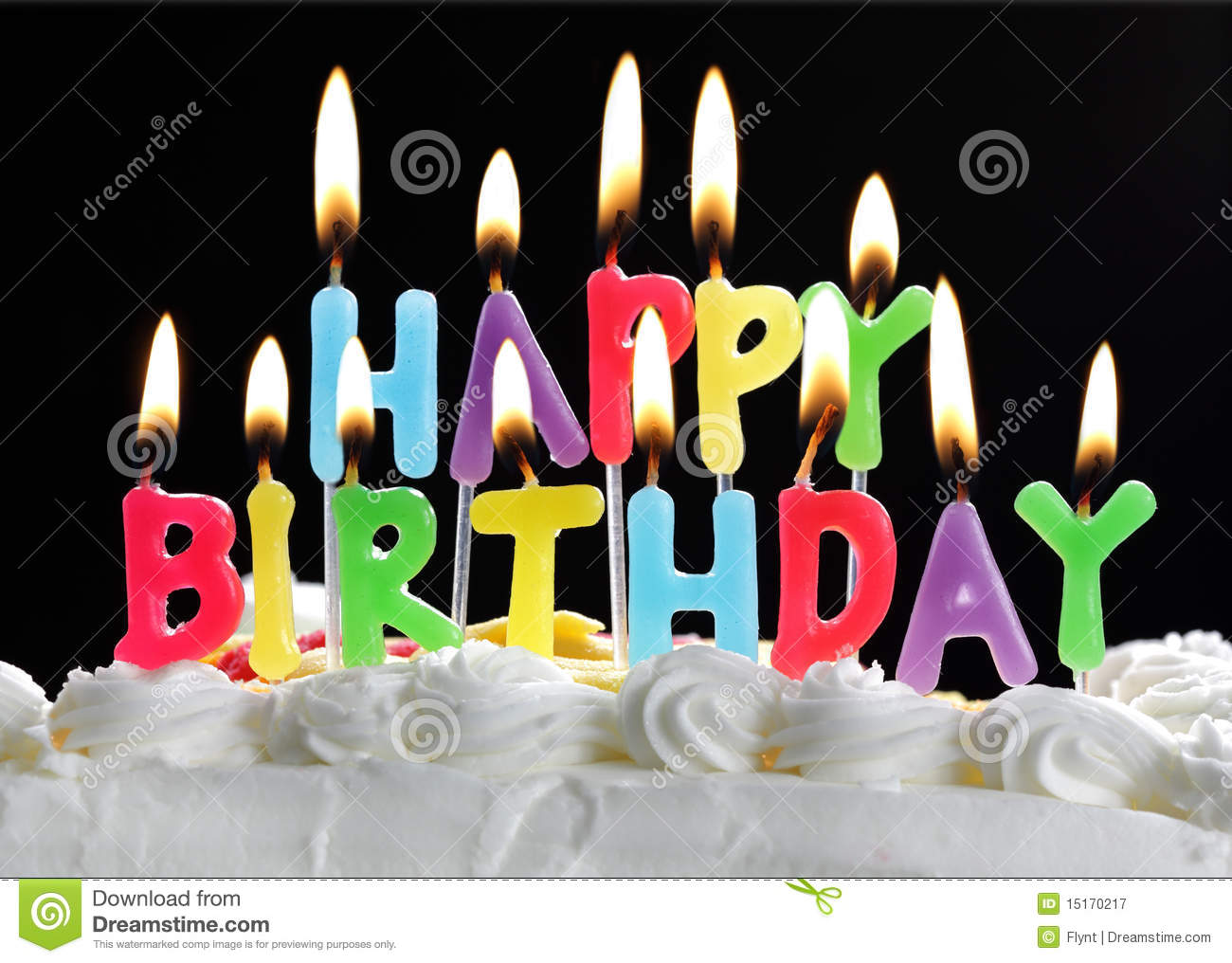 happy birthday cake burning candles stock photos images on birthday cake candles pictures