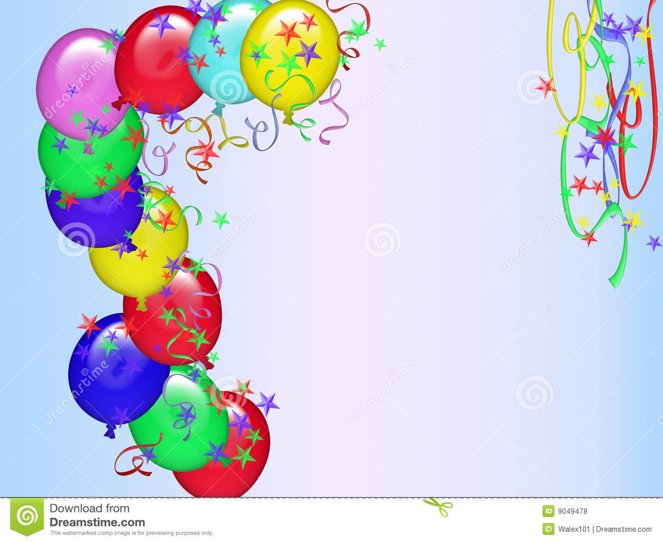 Happy Birthday Card (11) Stock Illustration. Illustration