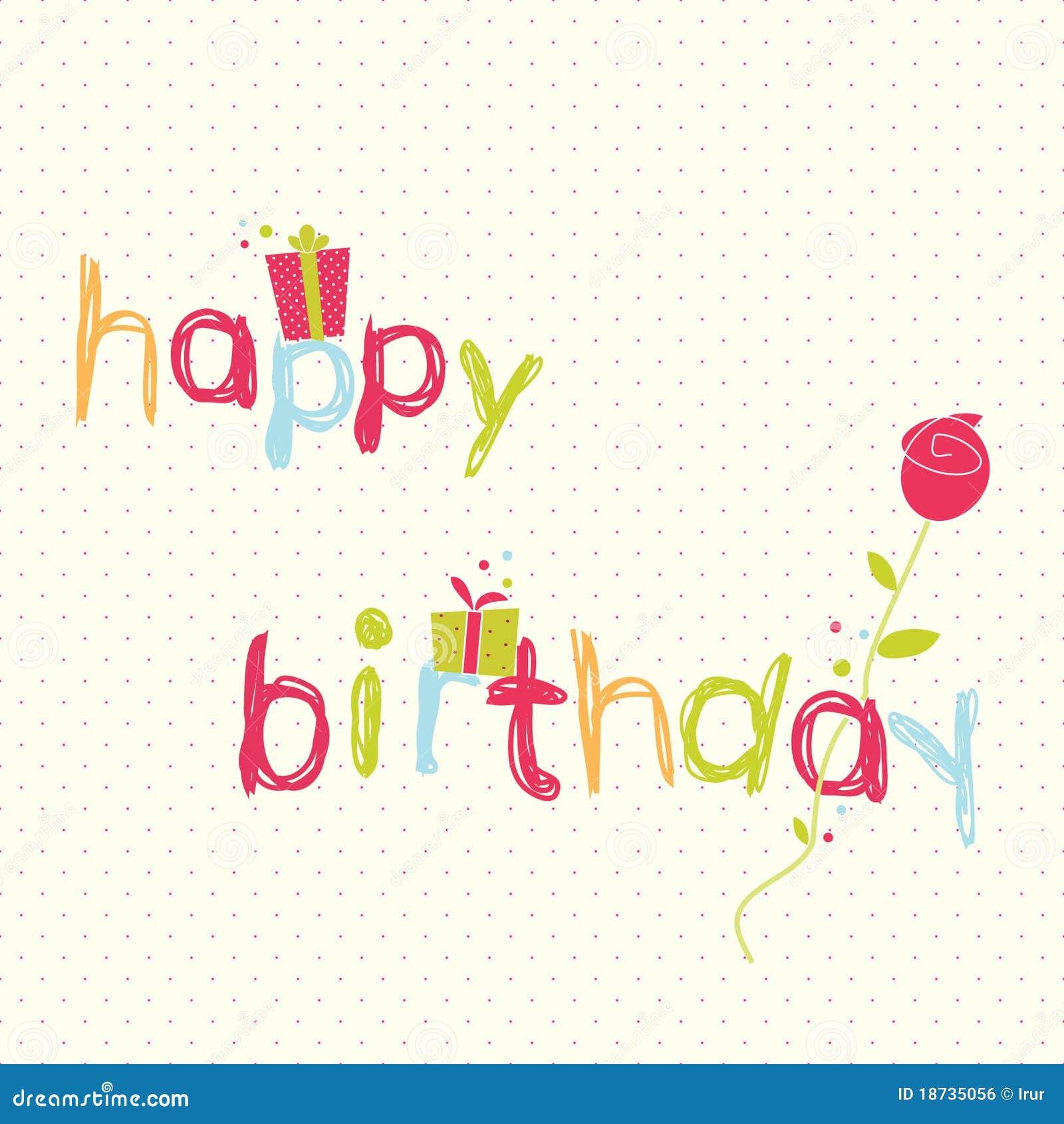 Happy Birthday Card Ro...