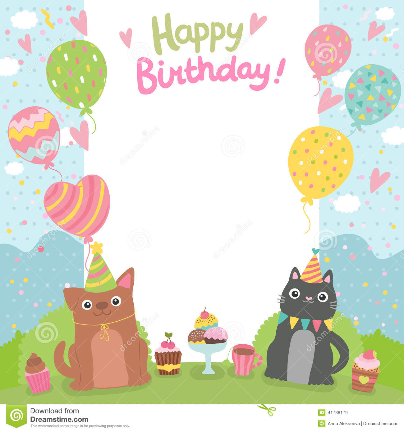 Kitty Cat Birthday Invitations for adorable invitations example