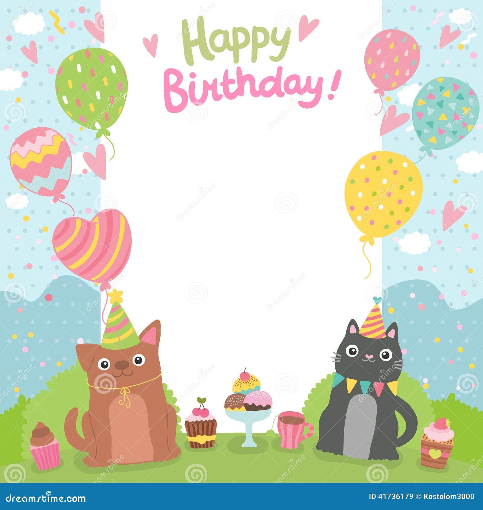 httpsthumbsdreamstimezhappybirthdaycar – Dog Birthday Invitations Free