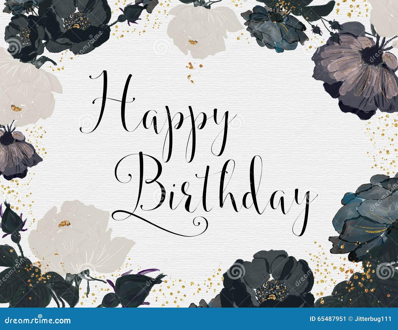 Happy Birthday Classy Stock Illustrations 108 Happy Birthday