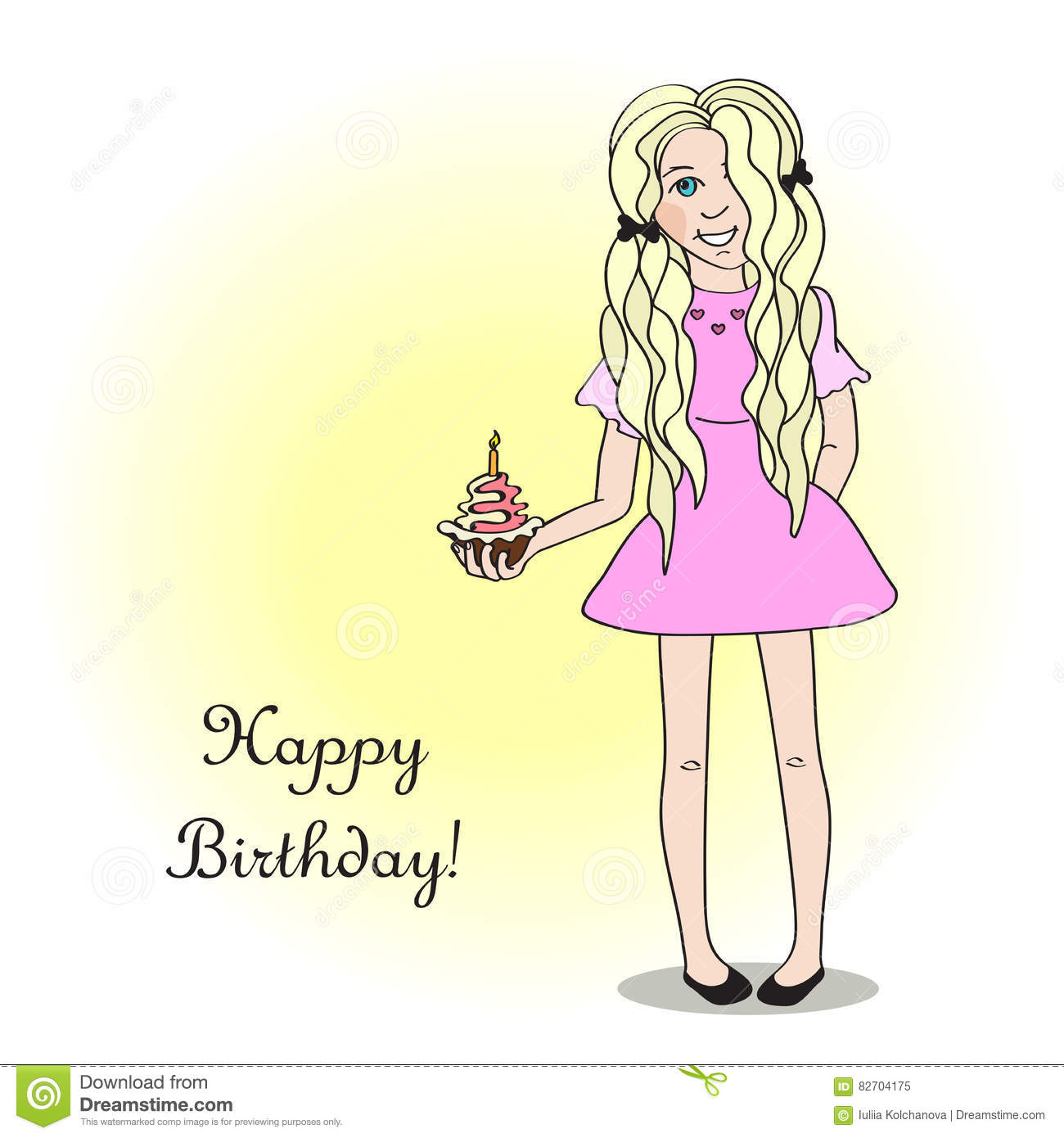 Urime ditëlindja Majlinda Nikçi! Happy-birthday-card-cute-girl-blonde-which-holding-festive-cupcake-82704175