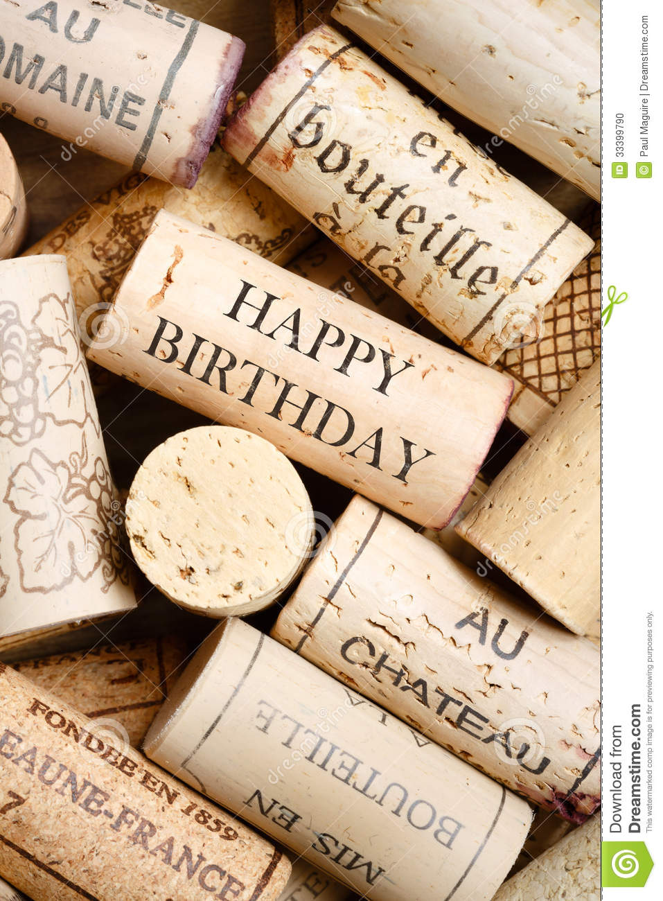 Happy Birthday Card Stock Photo Image Of Different Brown