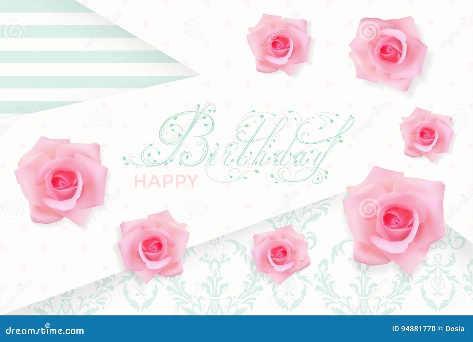 Romantic Happy Birthday Cards