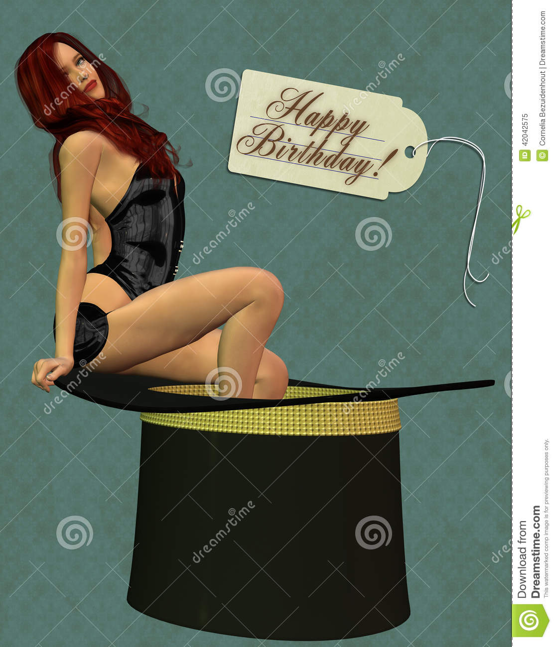 happy birthday card stock photo  image, Birthday card