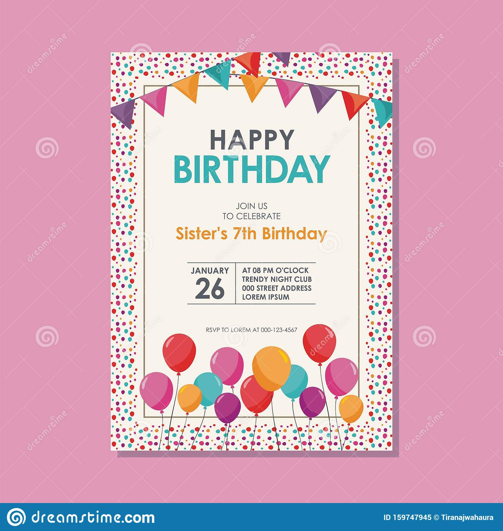 Magnificent Happy Birthday Card Template Design With Trendy And Cute Design Funny Birthday Cards Online Fluifree Goldxyz