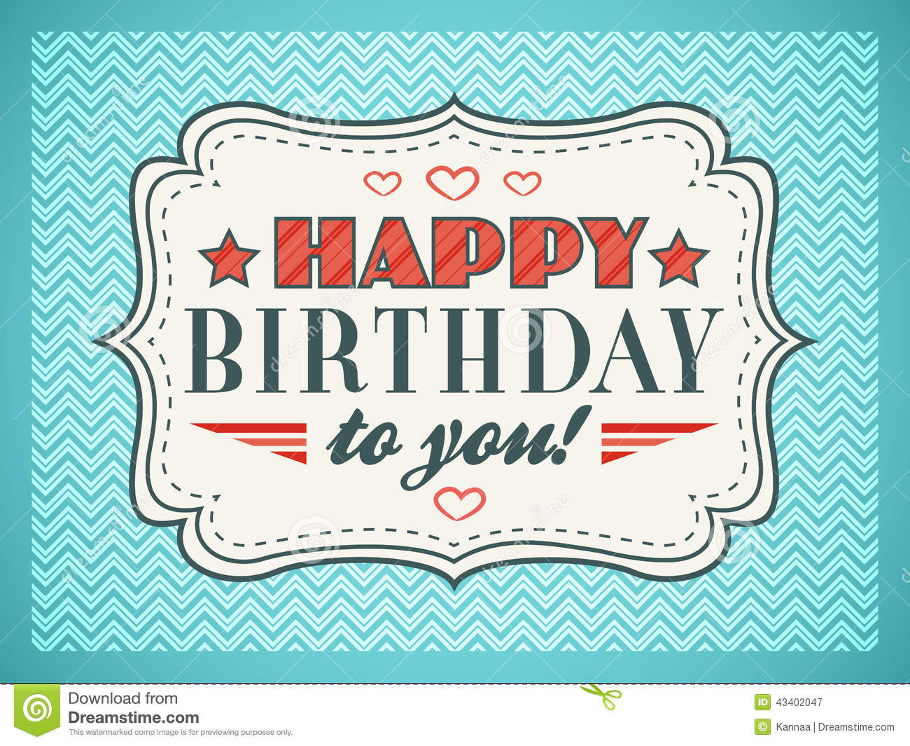 Happy birthday card typography letters font type stock illustration happy birthday card typography letters font type royalty free stock photography kristyandbryce Choice Image