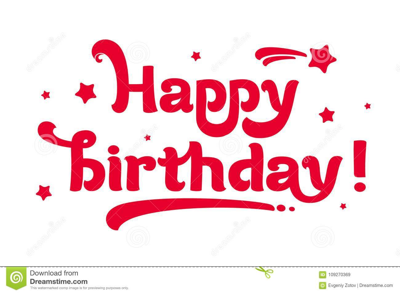 Congratulations On The Birthday Simple And Nice Card