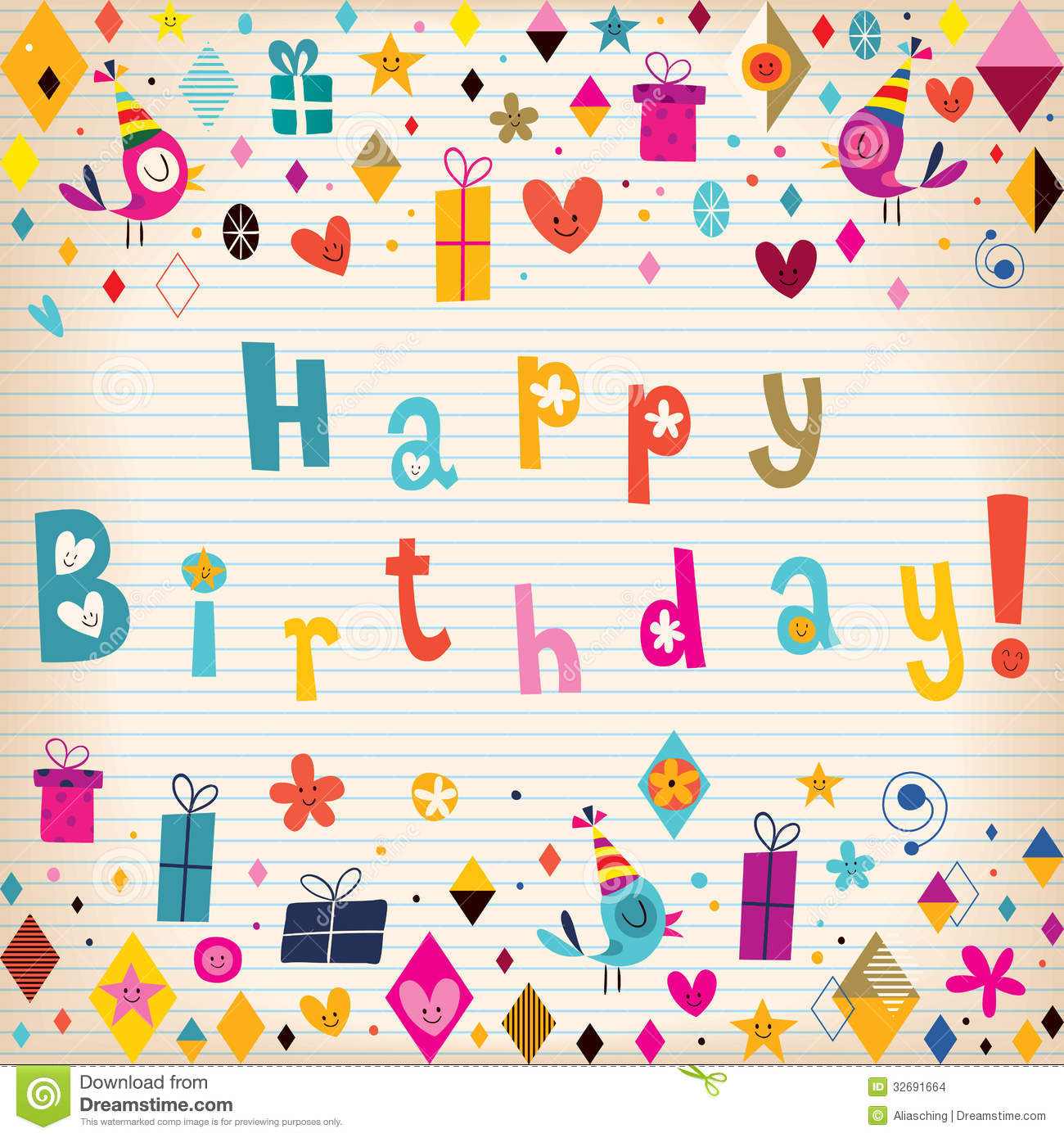happy birthday card stock images  image, Birthday card