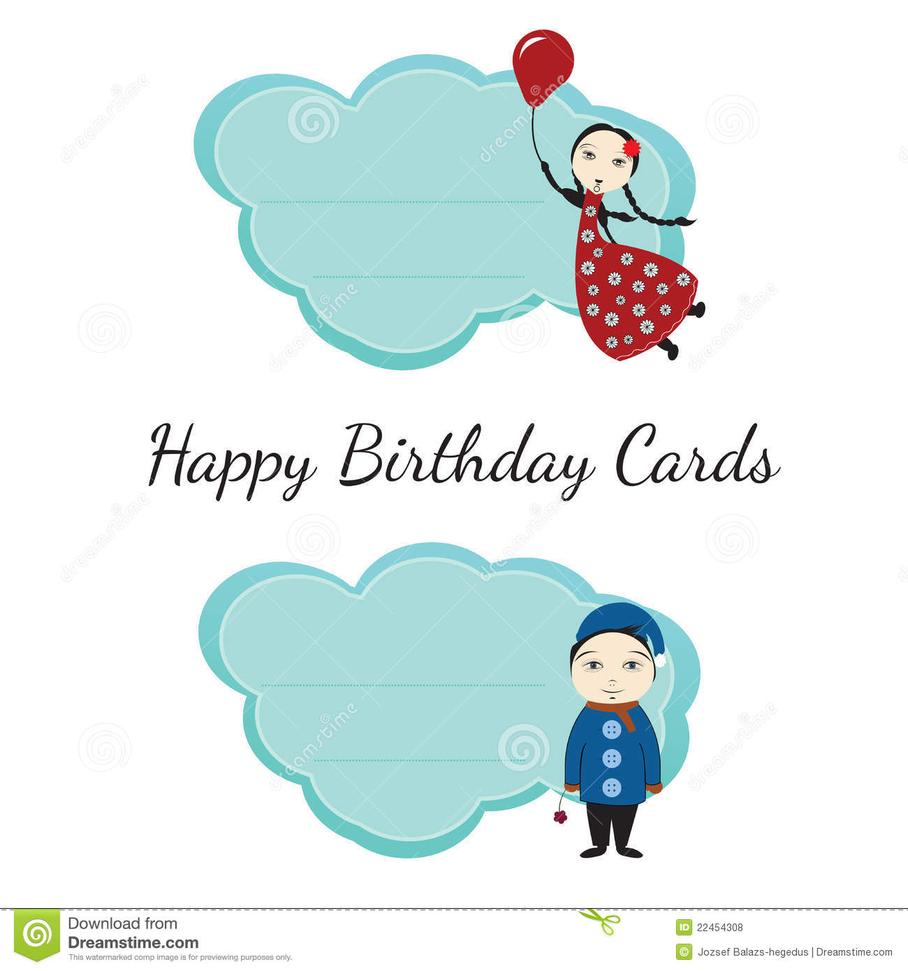 Happy Birthday Cards For Kids Royalty Free Photos Image – Birthday Cards for Kids