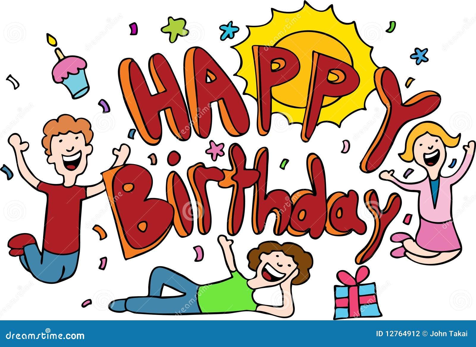 Happy Birthday Cartoon