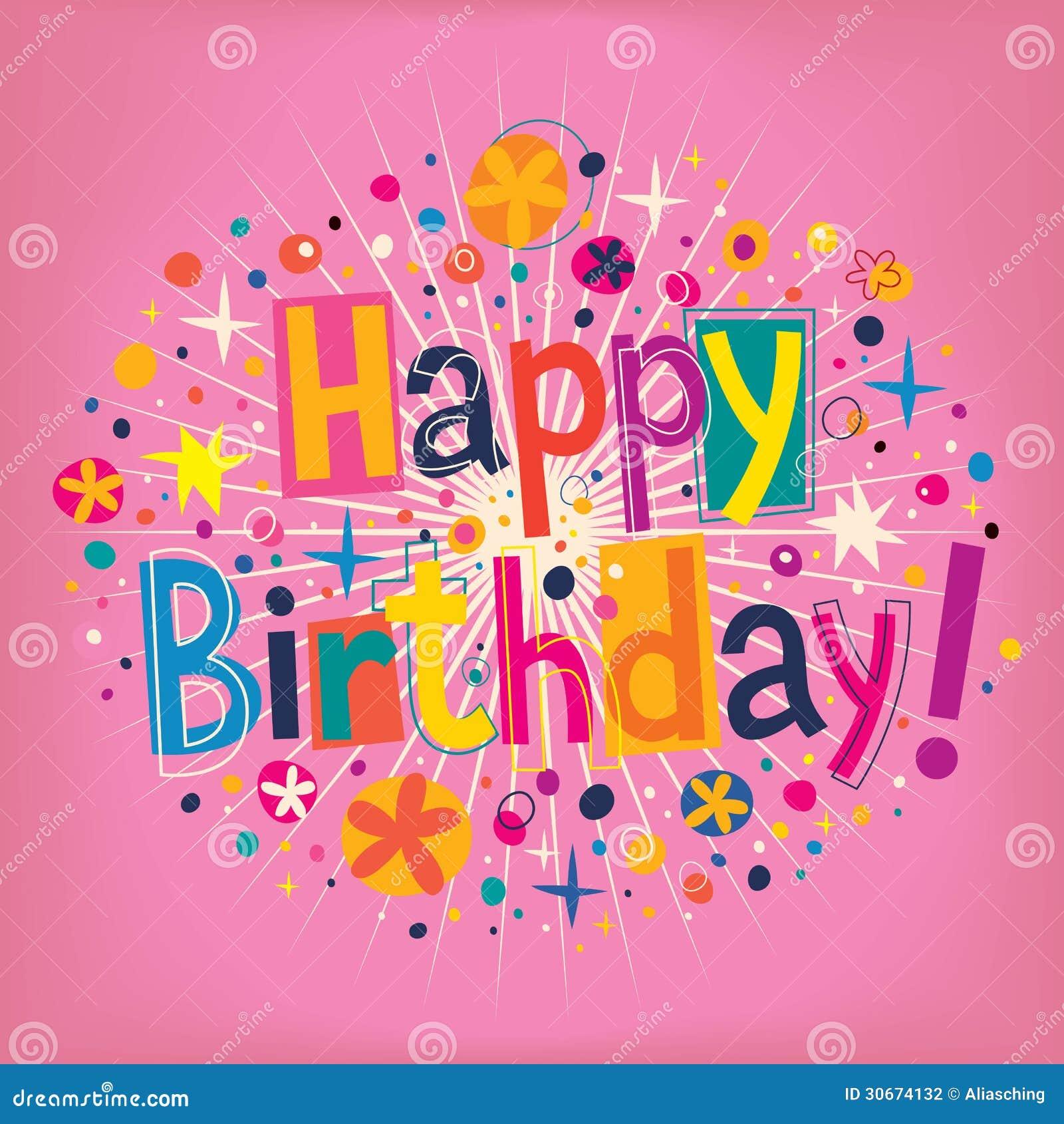 Happy birthday stock vector illustration of illustration 30674132 royalty free stock photo buycottarizona