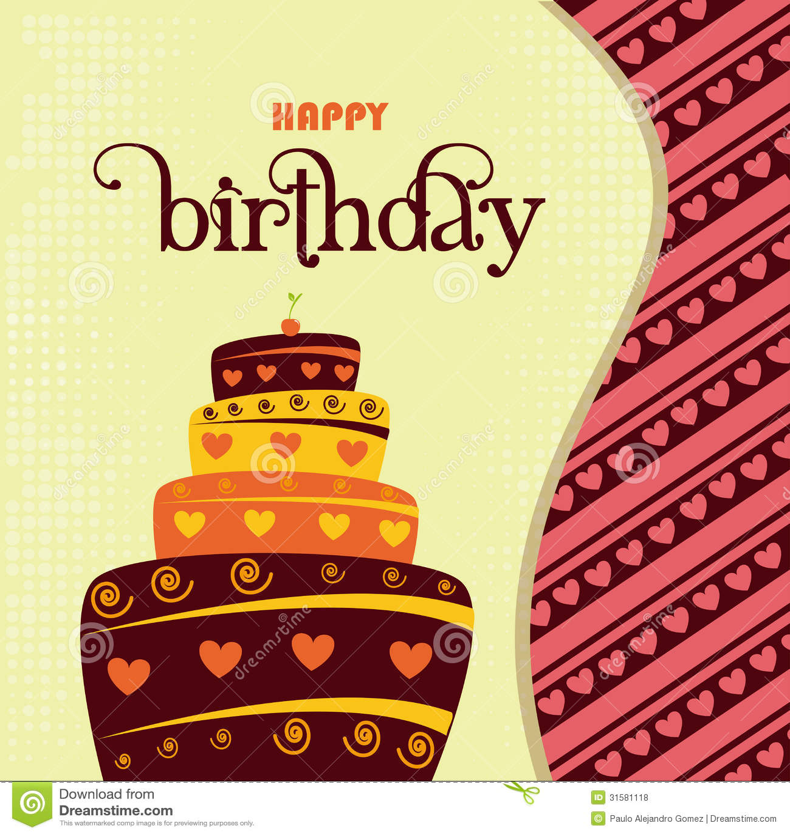 Happy Birthday Design Royalty Free Stock Photos Image
