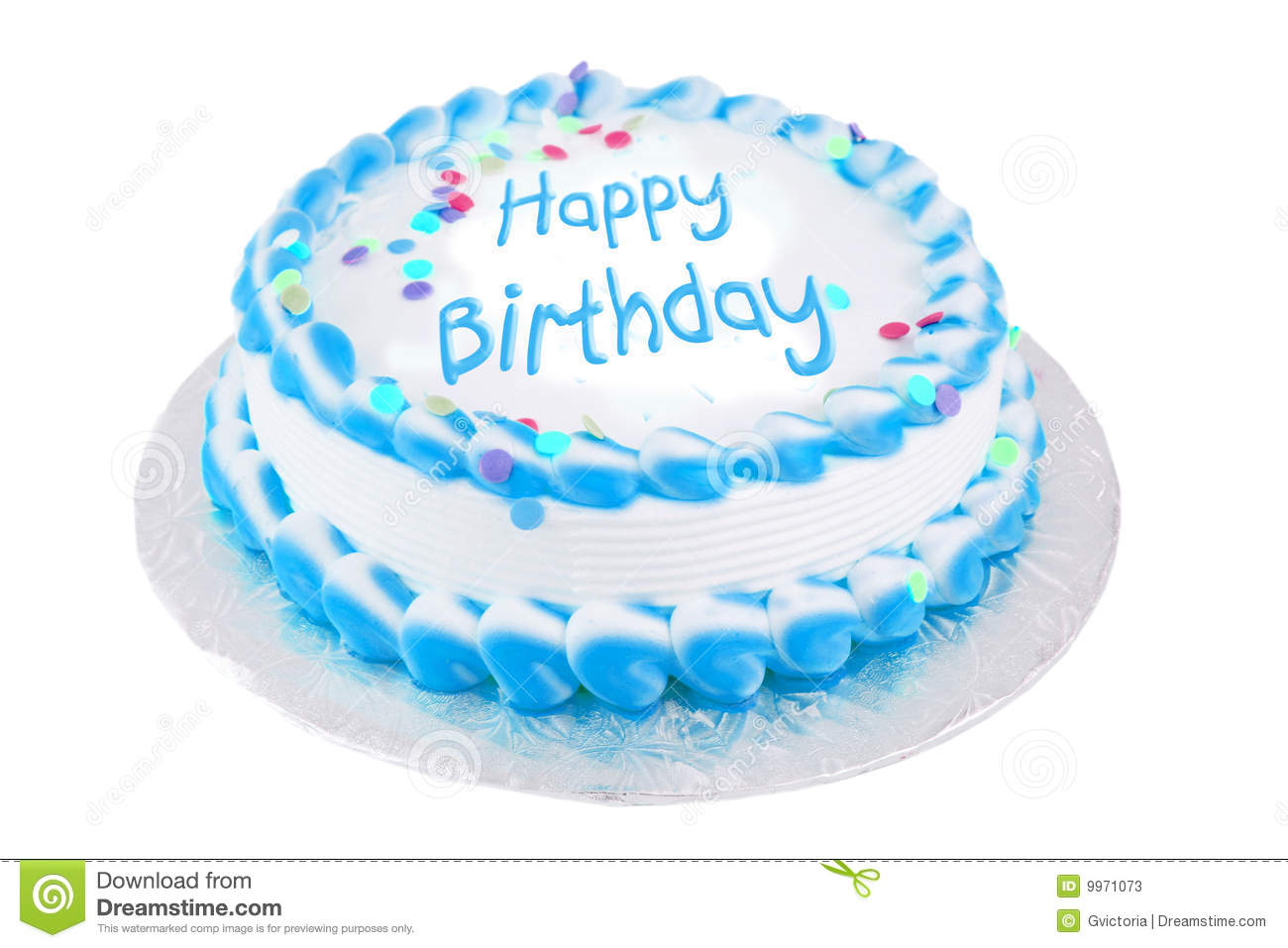 Stock Photos Happy Birthday Festive Cake Image9971073 on 100th Day