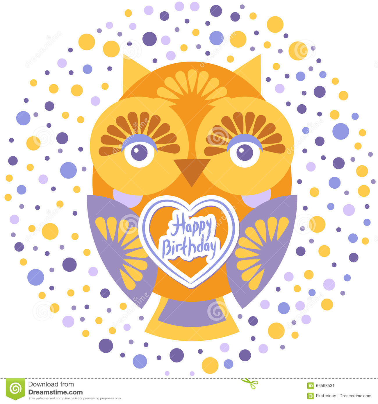 Owl Birthday Invitation Template with beautiful invitation example