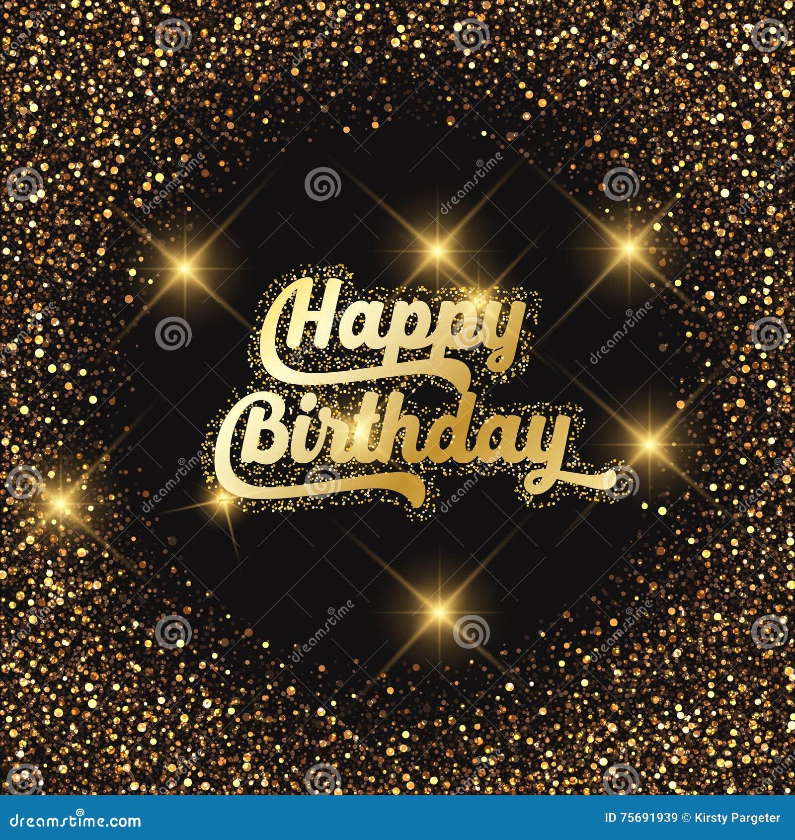 Happy Birthday Glitter | My Blog
