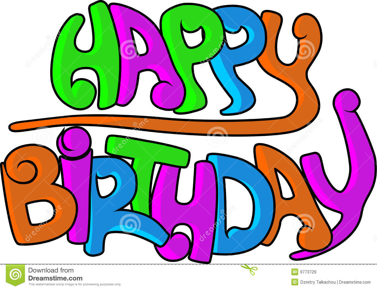 Happy Birthday Schrift Graffiti ~ Happy birthday graffiti royalty free stock images image
