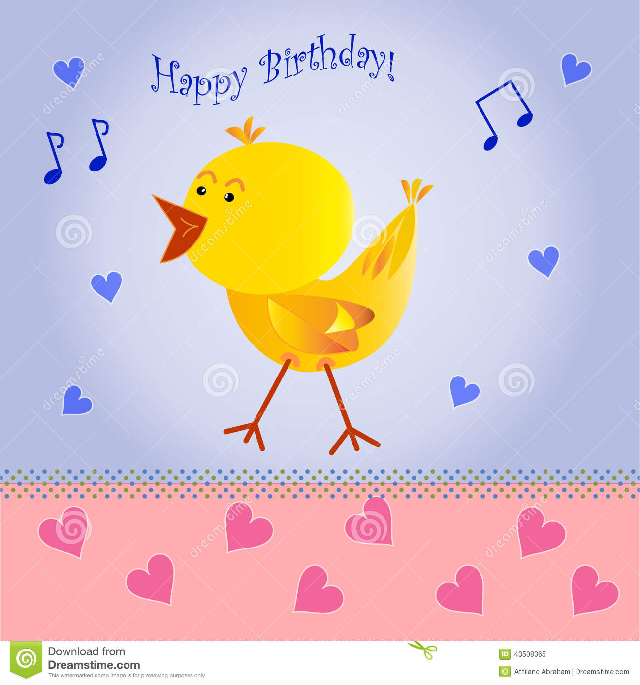 happy birthday greeting card stock vector  image, Birthday card
