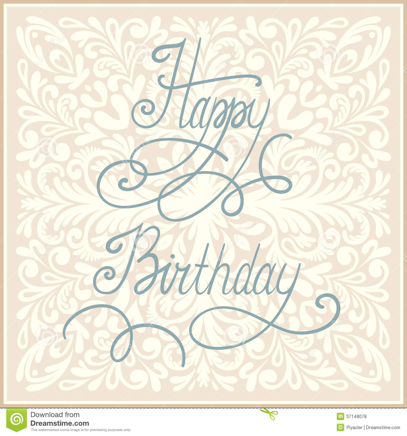 Happy birthday greeting card design stock vector illustration of happy birthday greeting card design kristyandbryce Images
