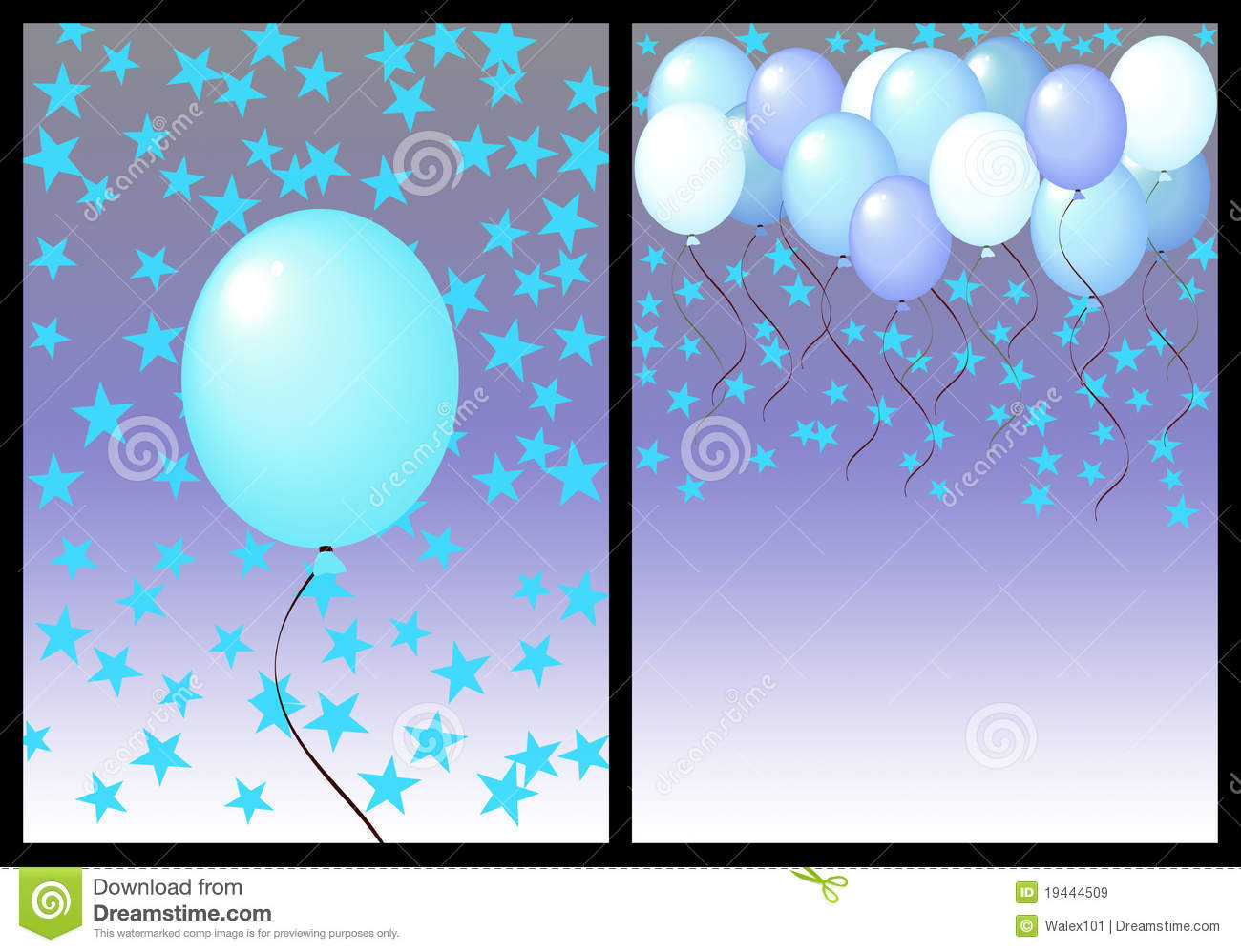 Happy birthday greeting card front and back male stock happy birthday greeting card front and back male kristyandbryce Gallery