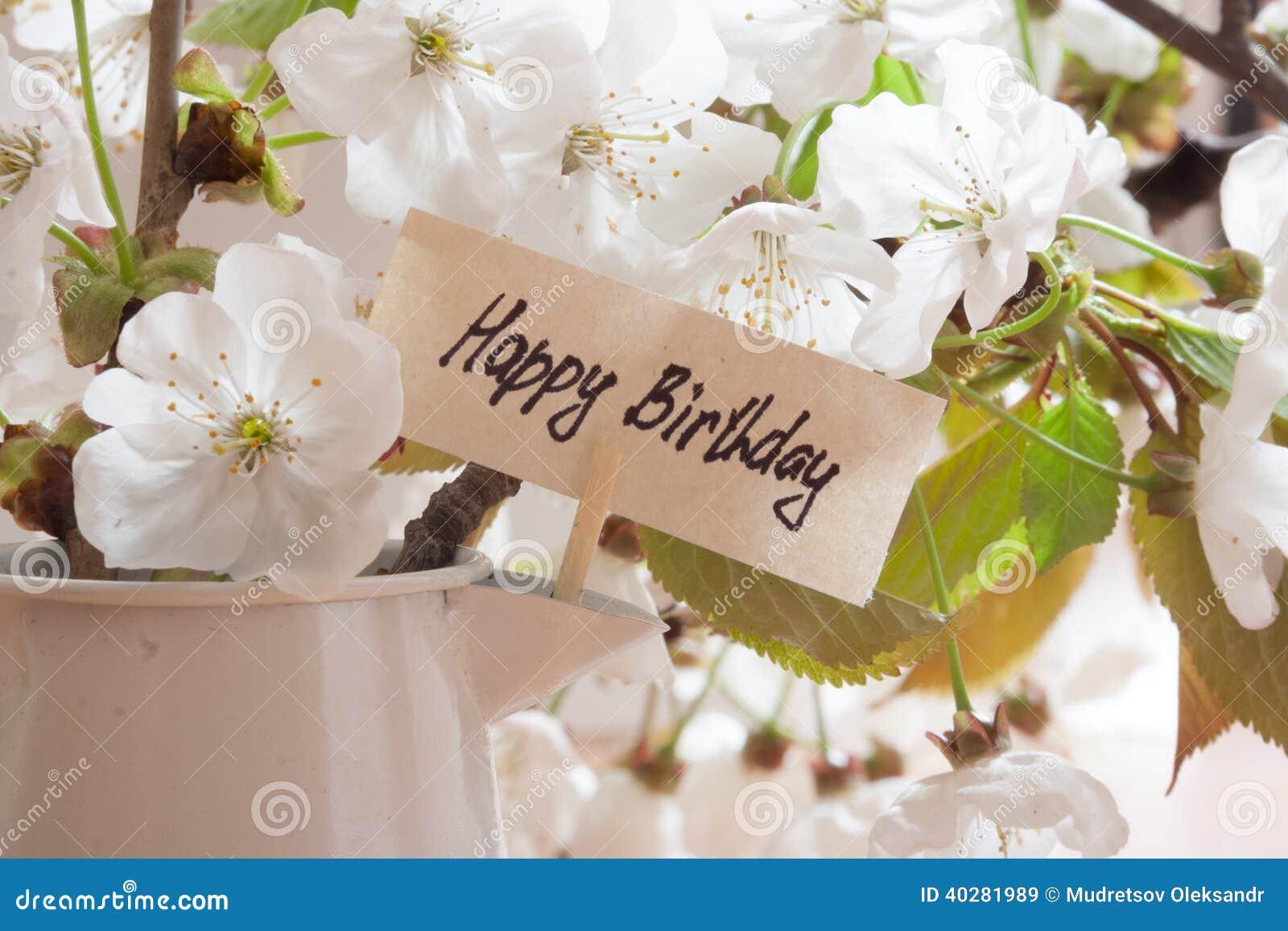 Happy Birthday Stock Photo Image 40281989